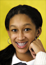 Orthodontic Patient with Braces